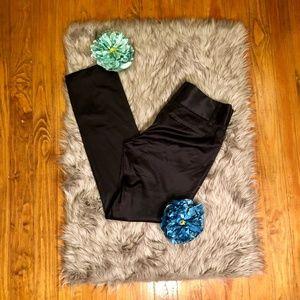 EUC INC Black Shiny Tuxedo Pants
